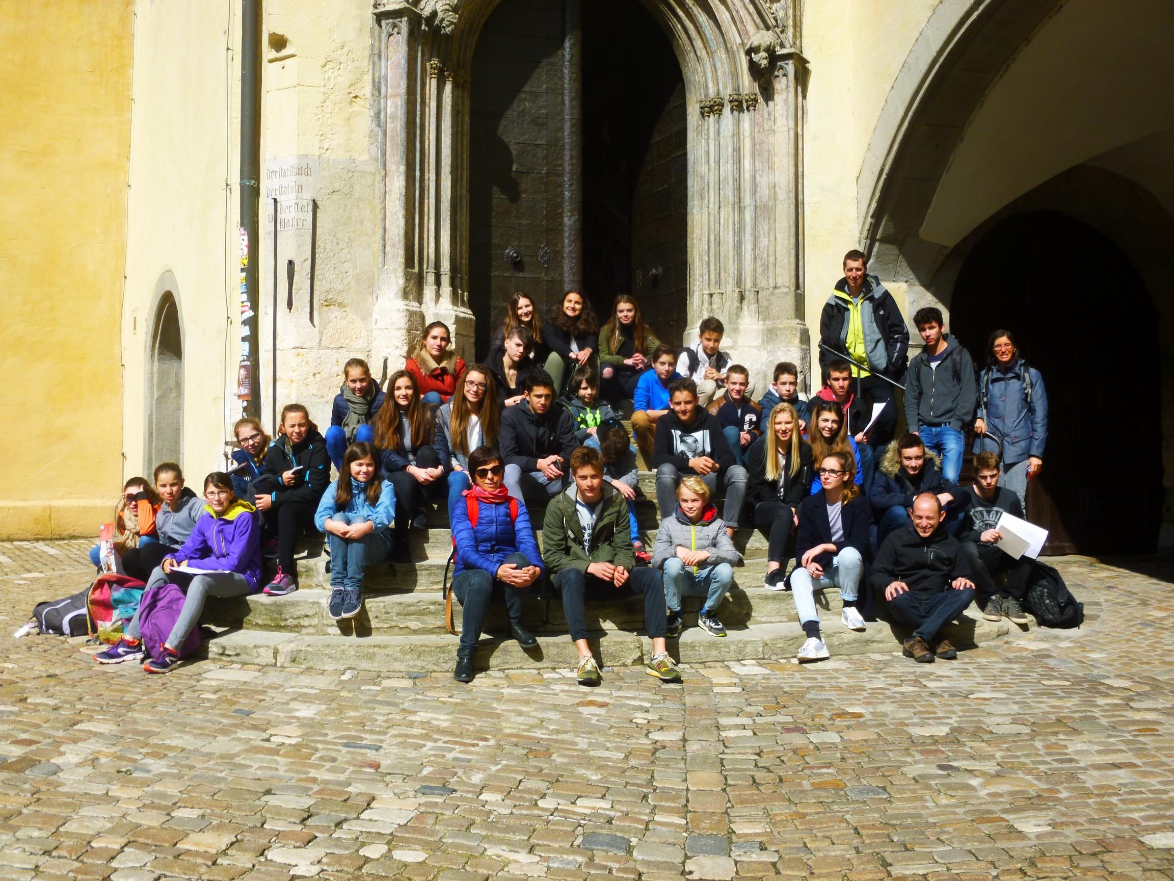Visite à Regensburg