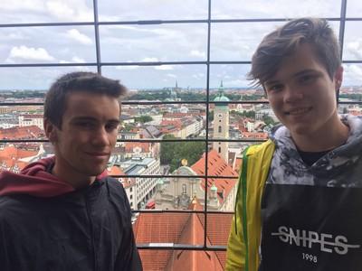 Juin 2016 – En direct de Regensburg où Julien Cardinal passe 5 semaines