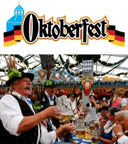 Inscription aux randonnées et à l'Oktoberfest en septembre 2017