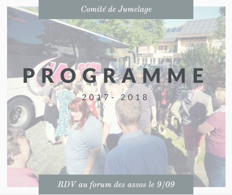 Programme 2017 -2018 & Forum des associations