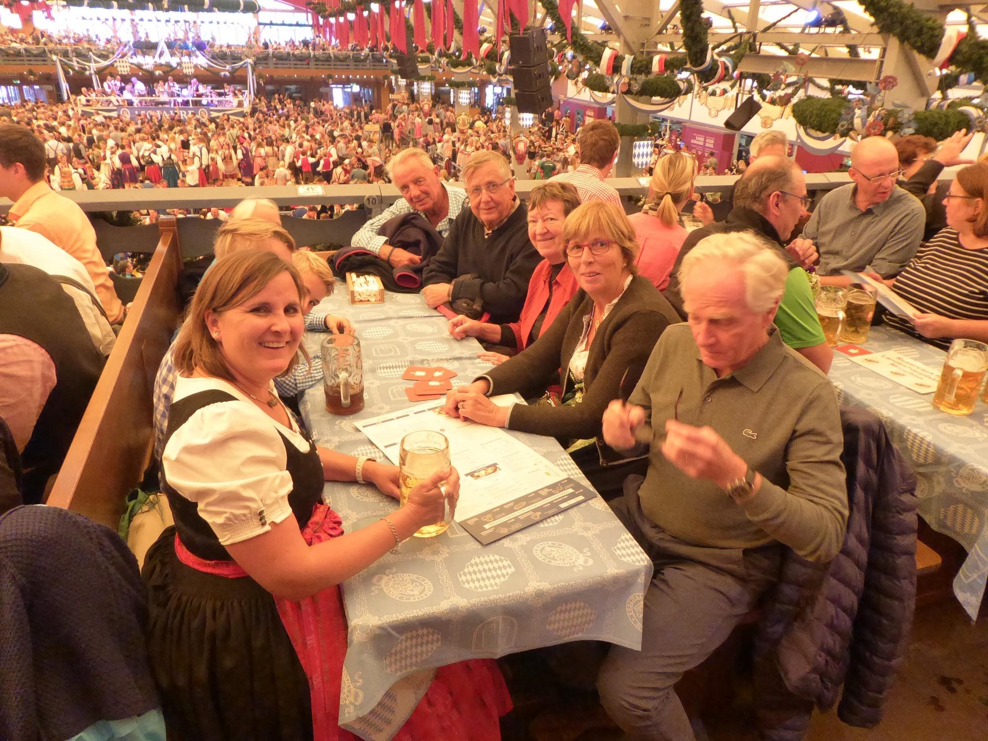 Une magnifique semaine autour de l'Oktoberfest !