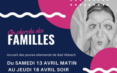 Accueil jeunes 2019 – Inscription des familles ouvertes !