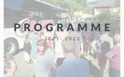 Programme 2021 – 2022 & Forum des associations