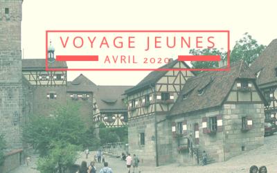 Voyage des jeunes Charbonnois à Bad Abbach – Printemps 2020 – Inscriptions
